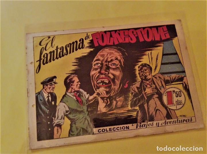 AVENTURAS Y VIAJES (BRUGUERA). EL FANTASMA DE FOLCKESTONE (BERNET). (Tebeos y Comics - Bruguera - Cuadernillos Varios)