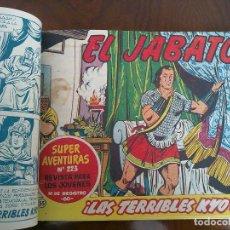 Tebeos: EL JABATO - 52 TEBEOS ORIGINALES APAISADOS ENCUADERNADOS. Lote 93738415