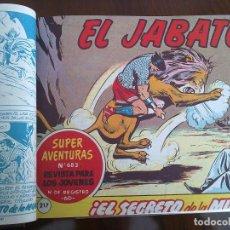 Tebeos: EL JABATO - 52 TEBEOS ORIGINALES APAISADOS ENCUADERNADOS . Lote 93738600