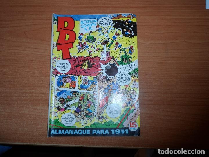 EL DDT - ALMANAQUE 1971 EDITORIAL BRUGUERA (Tebeos y Comics - Bruguera - DDT)