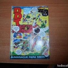 Tebeos: EL DDT - ALMANAQUE 1971 EDITORIAL BRUGUERA. Lote 93886630