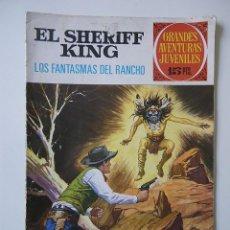 Tebeos: EL SHERIFF KING Nº 10 LOS FANTASMAS DEL RANCHO / BRUGUERA 1971. Lote 93910910