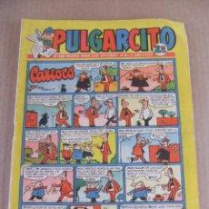 Tebeos: PULGARCITO Nº 1480 CON EL CAPITAN TRUENO EDITORIAL BRUGUERA. Lote 93997200