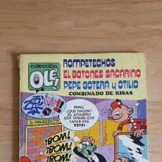 Tebeos: COLECCION OLE - ROMPETECHOS - EL BOTONES SACARINO - PEPE GOTERA Y OTILIO - COMBINADO DE RISAS - 109. Lote 94081115