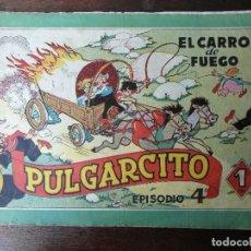 Tebeos: PULGARCITO EPISODIO 4. EL CARRO DE FUEGO BRUGUERA ORIGINAL. Lote 94396426