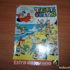 Tebeos: TELE COLOR EXTRA DE VERANO EDITORIAL BRUGUERA 1964 . Lote 94447358
