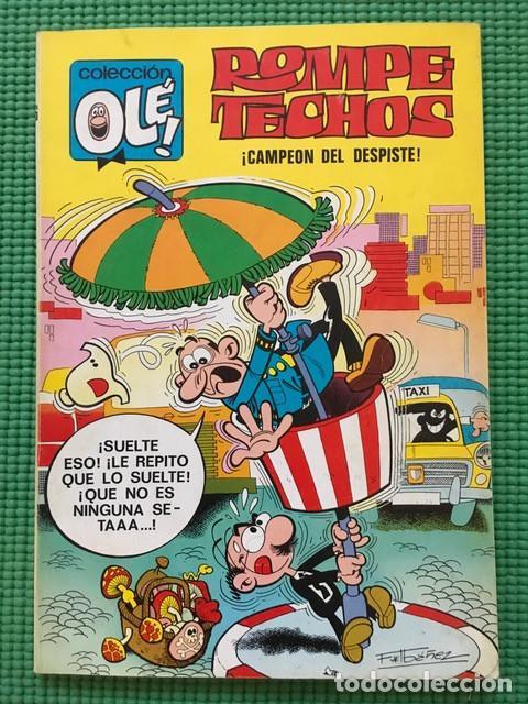 ROMPETECHOS Nº 36 - COLECCIÓN OLÉ 2ª EDICIÓN CON NÚMERO EN LOMO - 1975 (Tebeos y Comics - Bruguera - Ole)