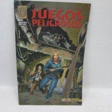 Tebeos: CEREZA DEL RIVERO - JUEGOS PELIGROSOS. Lote 94550671