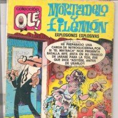Tebeos: OLÉ!. MORTADELO Y FILEMÓN. Nº 152. BRUGUERA. 2ª EDC. 1979. (C/A56). Lote 94561499