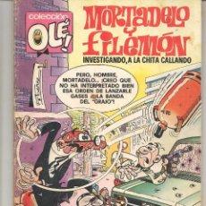 Tebeos: OLÉ!. MORTADELO Y FILEMÓN. Nº 143. BRUGUERA. 2ª EDC. 1979. (C/A56). Lote 94561807