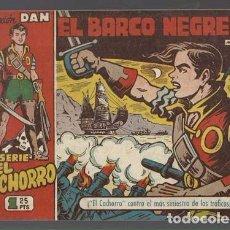 Tebeos: EL CACHORRO 132: EL BARCO NEGRERO, 1953, BRUGUERA,ORIGINAL, MUY BUEN ESTADO. Lote 94616015