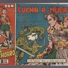 Tebeos: EL CACHORRO 126: LUCHA A MUERTE, 1953, BRUGUERA,ORIGINAL, MUY BUEN ESTADO. Lote 94616711