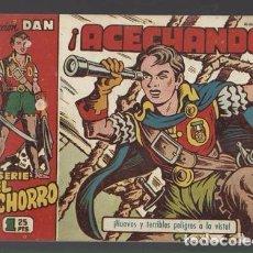 Tebeos: EL CACHORRO 119: ACECHANDO, 1953, BRUGUERA,ORIGINAL, MUY BUEN ESTADO. Lote 94617031