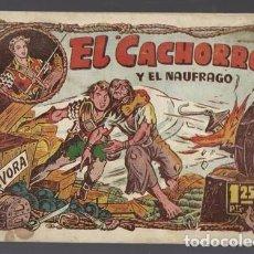 Tebeos: EL CACHORRO 96: Y EL NAUFRAGO, 1952, BRUGUERA, BUEN ESTADO. Lote 94617407