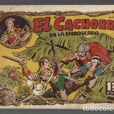 Tebeos: EL CACHORRO 85: EN LA EMBOSCADA, 1952, BRUGUERA,ORIGINAL, MUY BUEN ESTADO. Lote 94618019