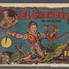 Tebeos: EL CACHORRO 79: AL ACECHO, 1952, BRUGUERA,ORIGINAL, MUY BUEN ESTADO. Lote 94618395
