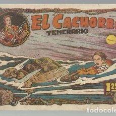 Tebeos: EL CACHORRO 38: TEMERARIO, 1951, BRUGUERA,ORIGINAL, MUY BUEN ESTADO. Lote 94618955