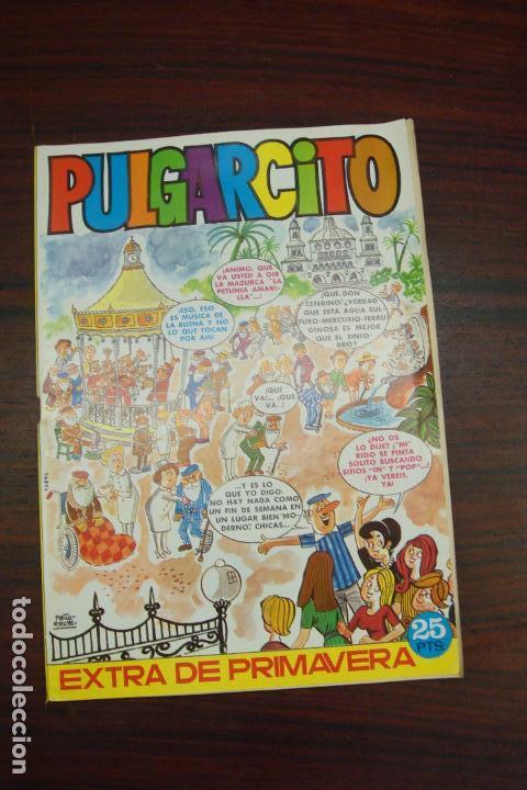 PULGARCITO EXTRA DE PRIMAVERA. EDITORIAL BRUGUERA. 1973 (Tebeos y Comics - Bruguera - Pulgarcito)