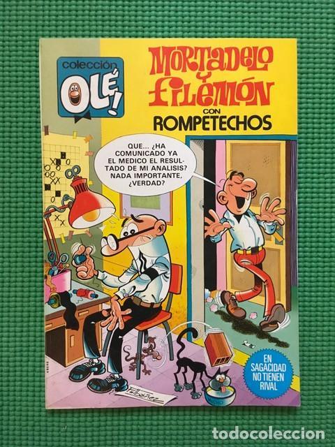 COLECCIÓN OLÉ 234 - MORTADELO Y FILEMÓN - 1ª EDICIÓN 1981 (Tebeos y Comics - Bruguera - Ole)