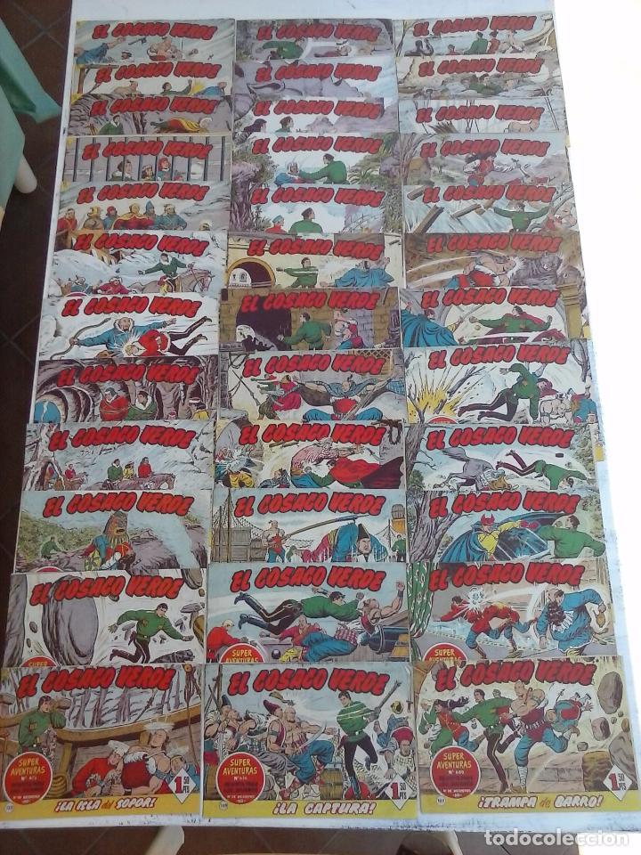 EL COSACO VERDE COMPLETA ORIGINAL Y SUELTA - 1 AL 144 , MAGNÍFICO ESTADO, VER TODAS LAS PORTADAS (Tebeos y Comics - Bruguera - Cosaco Verde)