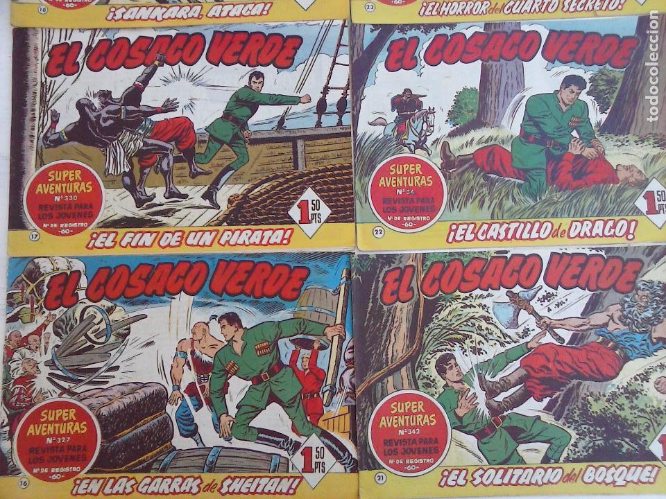 Tebeos: EL COSACO VERDE COMPLETA ORIGINAL Y SUELTA - 1 AL 144 , MAGNÍFICO ESTADO, VER TODAS LAS PORTADAS - Foto 3 - 94629439