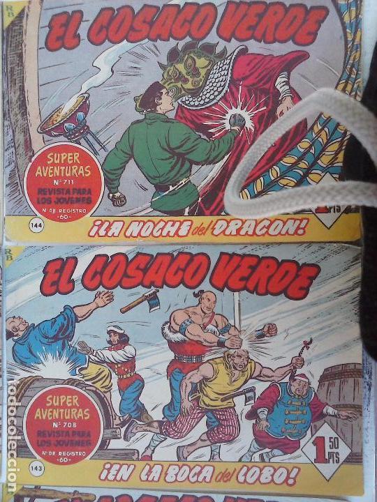 Tebeos: EL COSACO VERDE COMPLETA ORIGINAL Y SUELTA - 1 AL 144 , MAGNÍFICO ESTADO, VER TODAS LAS PORTADAS - Foto 13 - 94629439