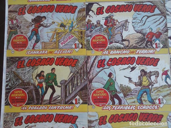 Tebeos: EL COSACO VERDE COMPLETA ORIGINAL Y SUELTA - 1 AL 144 , MAGNÍFICO ESTADO, VER TODAS LAS PORTADAS - Foto 18 - 94629439