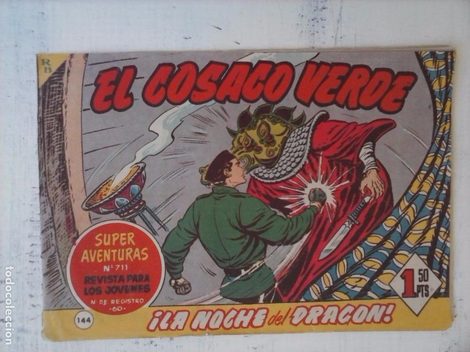 Tebeos: EL COSACO VERDE COMPLETA ORIGINAL Y SUELTA - 1 AL 144 , MAGNÍFICO ESTADO, VER TODAS LAS PORTADAS - Foto 19 - 94629439