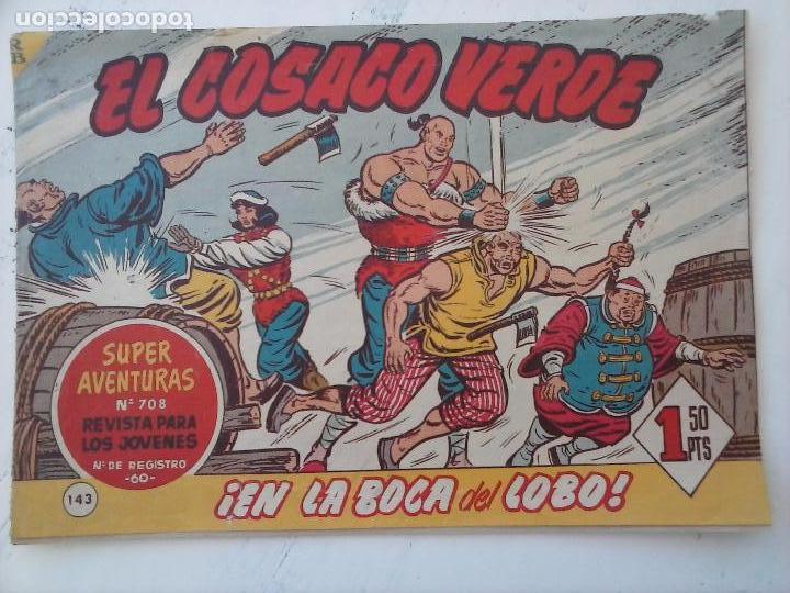 Tebeos: EL COSACO VERDE COMPLETA ORIGINAL Y SUELTA - 1 AL 144 , MAGNÍFICO ESTADO, VER TODAS LAS PORTADAS - Foto 20 - 94629439