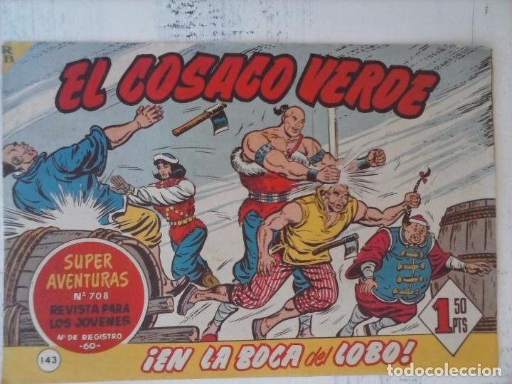 Tebeos: EL COSACO VERDE COMPLETA ORIGINAL Y SUELTA - 1 AL 144 , MAGNÍFICO ESTADO, VER TODAS LAS PORTADAS - Foto 21 - 94629439