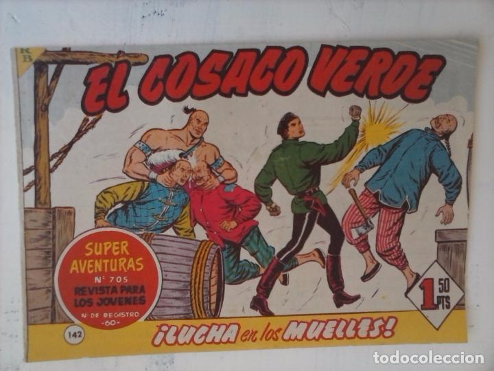 Tebeos: EL COSACO VERDE COMPLETA ORIGINAL Y SUELTA - 1 AL 144 , MAGNÍFICO ESTADO, VER TODAS LAS PORTADAS - Foto 22 - 94629439