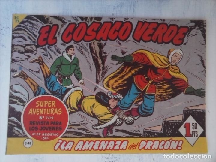 Tebeos: EL COSACO VERDE COMPLETA ORIGINAL Y SUELTA - 1 AL 144 , MAGNÍFICO ESTADO, VER TODAS LAS PORTADAS - Foto 23 - 94629439