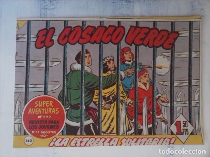Tebeos: EL COSACO VERDE COMPLETA ORIGINAL Y SUELTA - 1 AL 144 , MAGNÍFICO ESTADO, VER TODAS LAS PORTADAS - Foto 24 - 94629439