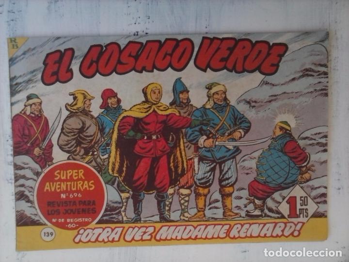 Tebeos: EL COSACO VERDE COMPLETA ORIGINAL Y SUELTA - 1 AL 144 , MAGNÍFICO ESTADO, VER TODAS LAS PORTADAS - Foto 25 - 94629439