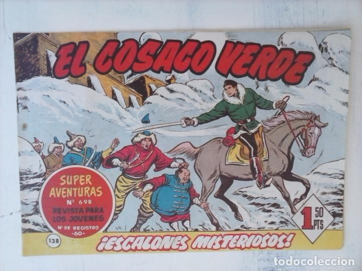 Tebeos: EL COSACO VERDE COMPLETA ORIGINAL Y SUELTA - 1 AL 144 , MAGNÍFICO ESTADO, VER TODAS LAS PORTADAS - Foto 26 - 94629439