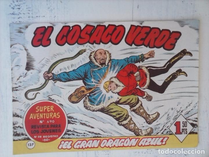Tebeos: EL COSACO VERDE COMPLETA ORIGINAL Y SUELTA - 1 AL 144 , MAGNÍFICO ESTADO, VER TODAS LAS PORTADAS - Foto 27 - 94629439