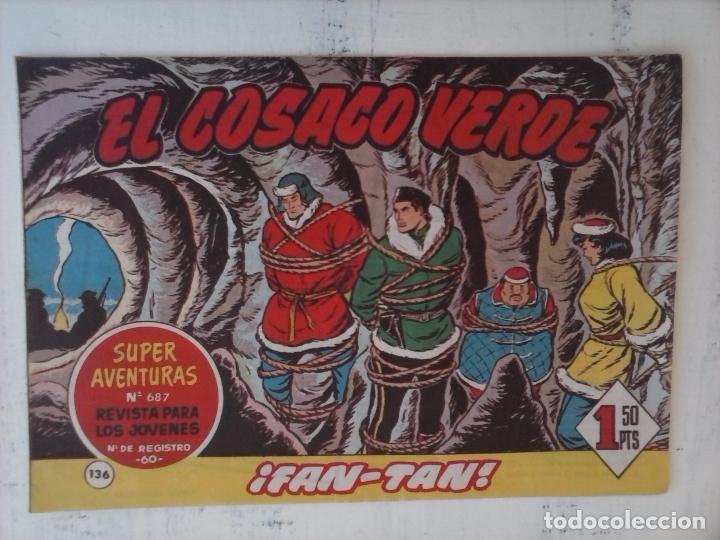 Tebeos: EL COSACO VERDE COMPLETA ORIGINAL Y SUELTA - 1 AL 144 , MAGNÍFICO ESTADO, VER TODAS LAS PORTADAS - Foto 28 - 94629439