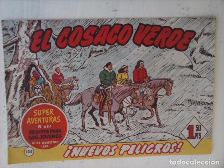 Tebeos: EL COSACO VERDE COMPLETA ORIGINAL Y SUELTA - 1 AL 144 , MAGNÍFICO ESTADO, VER TODAS LAS PORTADAS - Foto 29 - 94629439