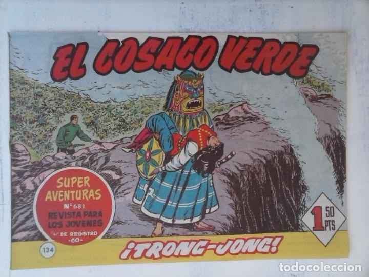 Tebeos: EL COSACO VERDE COMPLETA ORIGINAL Y SUELTA - 1 AL 144 , MAGNÍFICO ESTADO, VER TODAS LAS PORTADAS - Foto 30 - 94629439