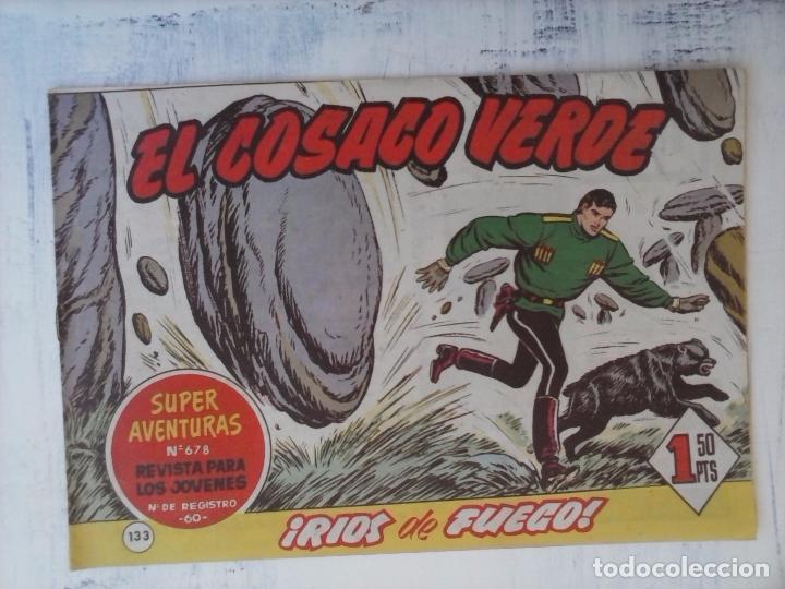 Tebeos: EL COSACO VERDE COMPLETA ORIGINAL Y SUELTA - 1 AL 144 , MAGNÍFICO ESTADO, VER TODAS LAS PORTADAS - Foto 31 - 94629439