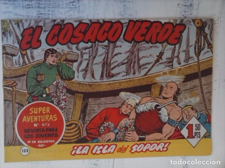 Tebeos: EL COSACO VERDE COMPLETA ORIGINAL Y SUELTA - 1 AL 144 , MAGNÍFICO ESTADO, VER TODAS LAS PORTADAS - Foto 32 - 94629439