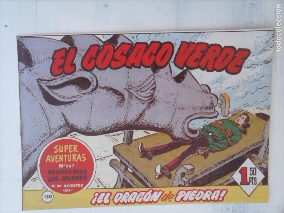 Tebeos: EL COSACO VERDE COMPLETA ORIGINAL Y SUELTA - 1 AL 144 , MAGNÍFICO ESTADO, VER TODAS LAS PORTADAS - Foto 34 - 94629439