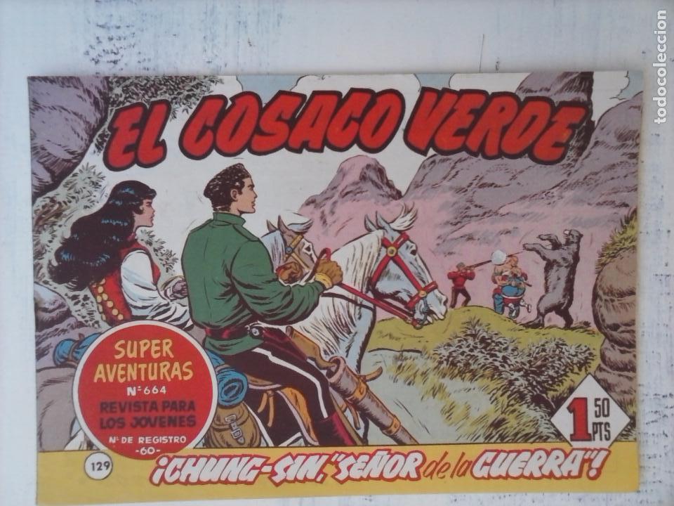 Tebeos: EL COSACO VERDE COMPLETA ORIGINAL Y SUELTA - 1 AL 144 , MAGNÍFICO ESTADO, VER TODAS LAS PORTADAS - Foto 35 - 94629439