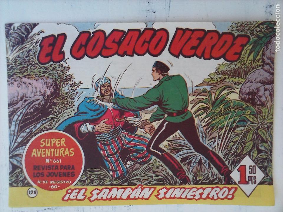 Tebeos: EL COSACO VERDE COMPLETA ORIGINAL Y SUELTA - 1 AL 144 , MAGNÍFICO ESTADO, VER TODAS LAS PORTADAS - Foto 36 - 94629439