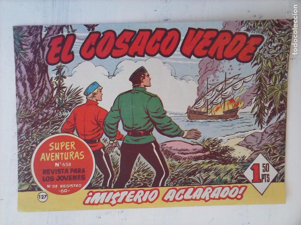 Tebeos: EL COSACO VERDE COMPLETA ORIGINAL Y SUELTA - 1 AL 144 , MAGNÍFICO ESTADO, VER TODAS LAS PORTADAS - Foto 37 - 94629439