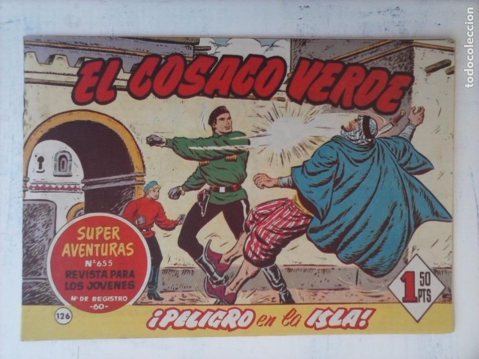Tebeos: EL COSACO VERDE COMPLETA ORIGINAL Y SUELTA - 1 AL 144 , MAGNÍFICO ESTADO, VER TODAS LAS PORTADAS - Foto 38 - 94629439