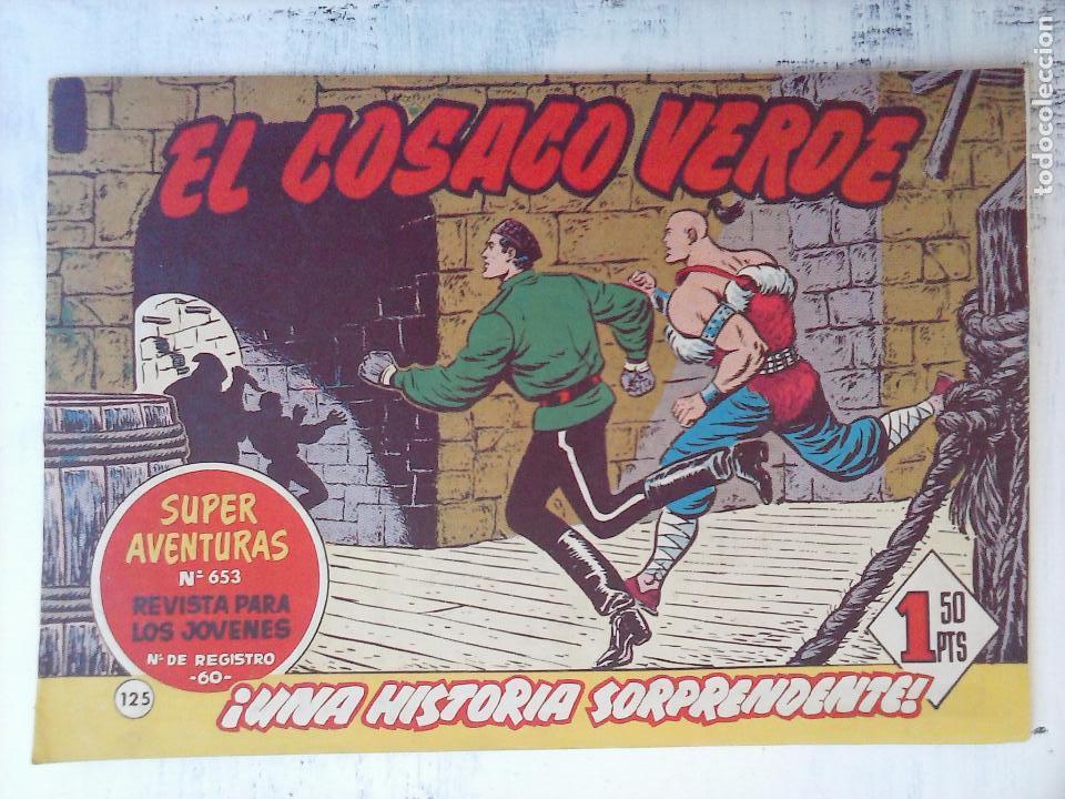 Tebeos: EL COSACO VERDE COMPLETA ORIGINAL Y SUELTA - 1 AL 144 , MAGNÍFICO ESTADO, VER TODAS LAS PORTADAS - Foto 39 - 94629439