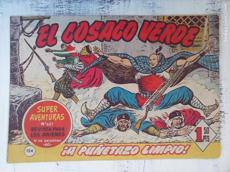 Tebeos: EL COSACO VERDE COMPLETA ORIGINAL Y SUELTA - 1 AL 144 , MAGNÍFICO ESTADO, VER TODAS LAS PORTADAS - Foto 40 - 94629439