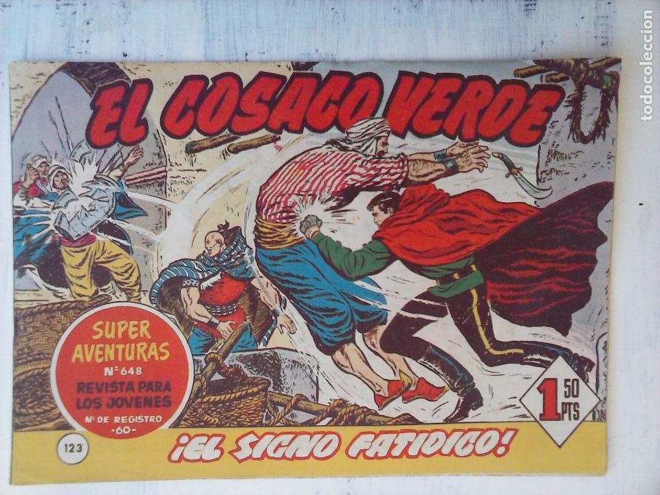 Tebeos: EL COSACO VERDE COMPLETA ORIGINAL Y SUELTA - 1 AL 144 , MAGNÍFICO ESTADO, VER TODAS LAS PORTADAS - Foto 41 - 94629439