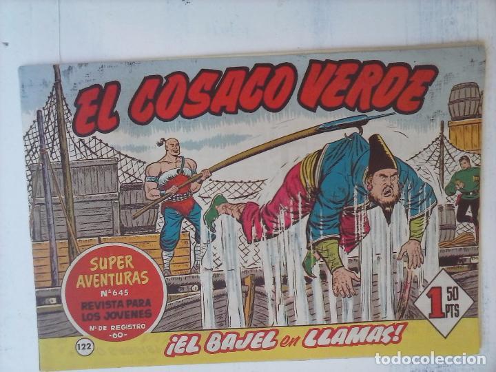 Tebeos: EL COSACO VERDE COMPLETA ORIGINAL Y SUELTA - 1 AL 144 , MAGNÍFICO ESTADO, VER TODAS LAS PORTADAS - Foto 42 - 94629439